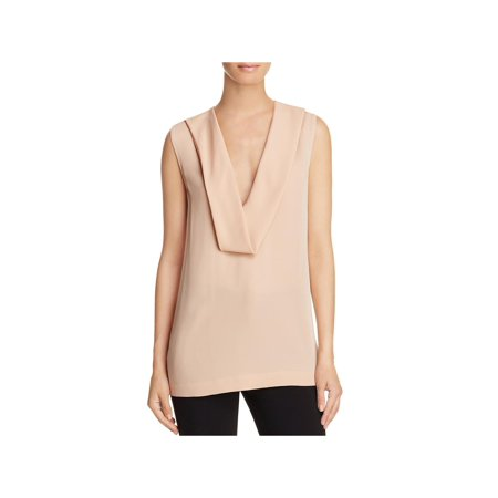 - Theory Womens Salvatill Silk Georgette Blouse