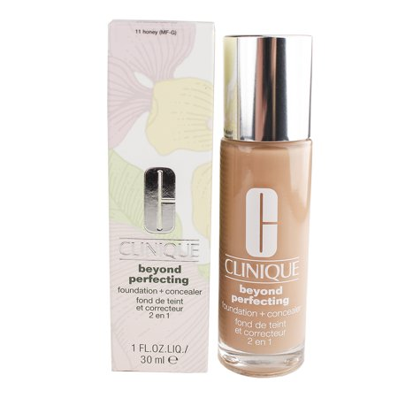 Clinique Beyond Perfecting Foundation + Concealer#11 Honey (MF-G)-Dry Comb. To Comb. Oily 1 oz Foundation + Concealer