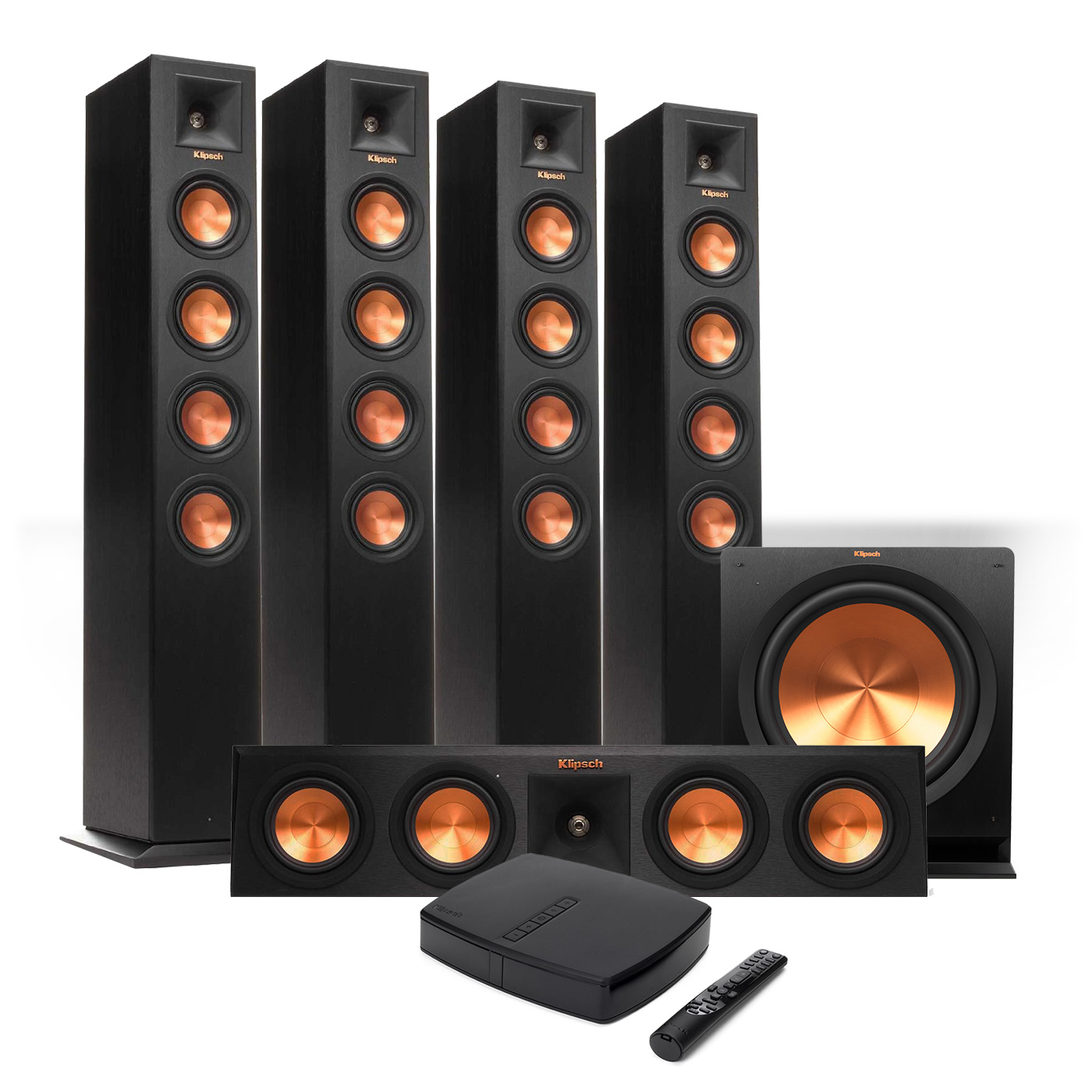 Klipsch Premiere HD Wireless 5.1 Floorstanding System w  HD Control Center by Klipsch