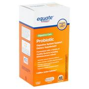 Equate Digestive Care Probiotic Capsules, 42 count
