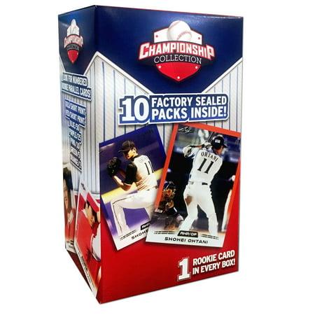 18 Mlb Baseball Championship Collection 15 Pack Trading Cards