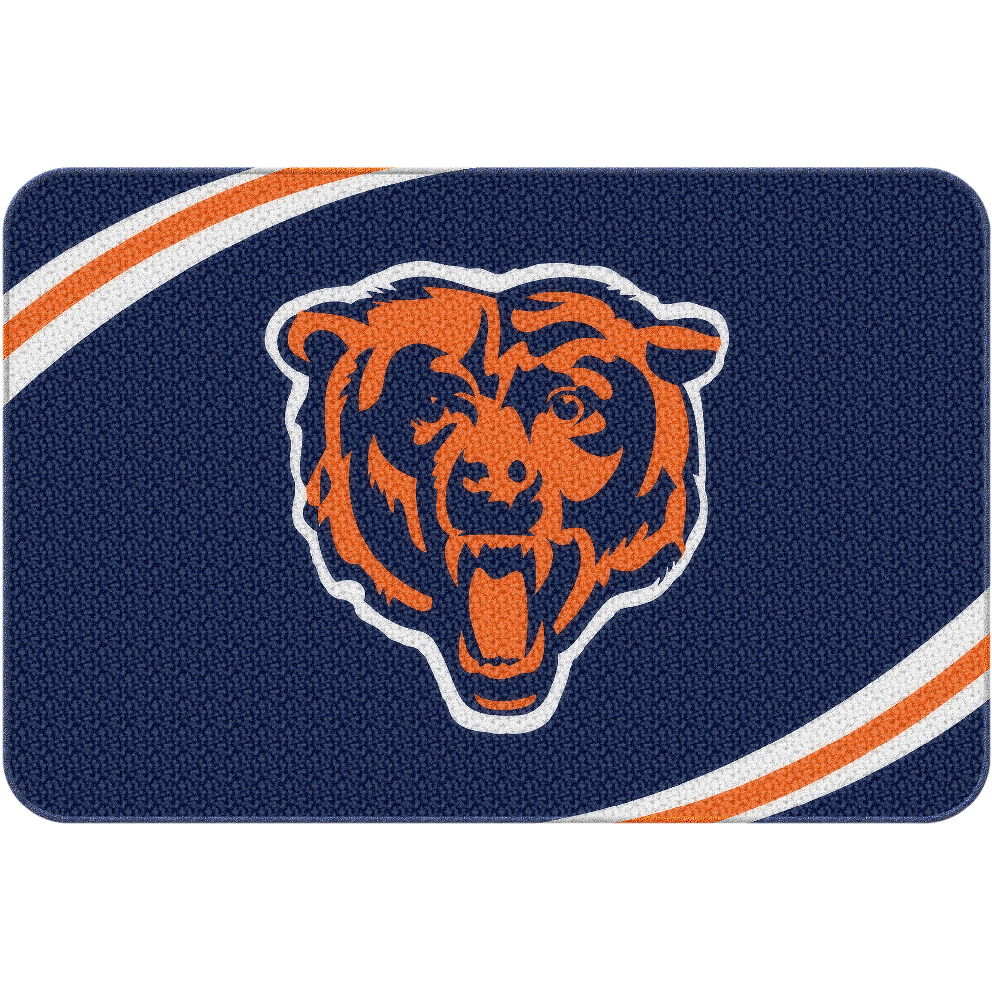 "NFL Chicago Bears 20"" x 30"" Round Edge Bath Rug"