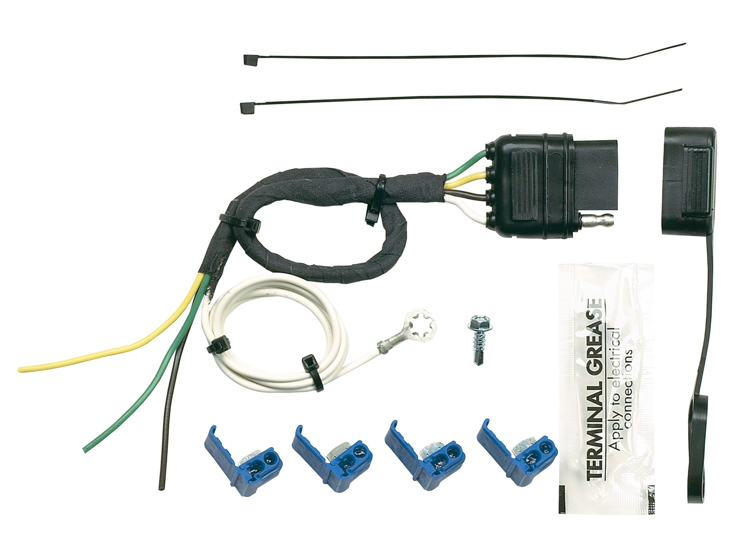 Hopkins 41145 Wiring Diagram Electrical Towing Solutions Harness 31 Images Dodge 7 Way Trailer Connector 2009 Silverado