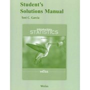 Introductory Statistics Student's Solutions Manual