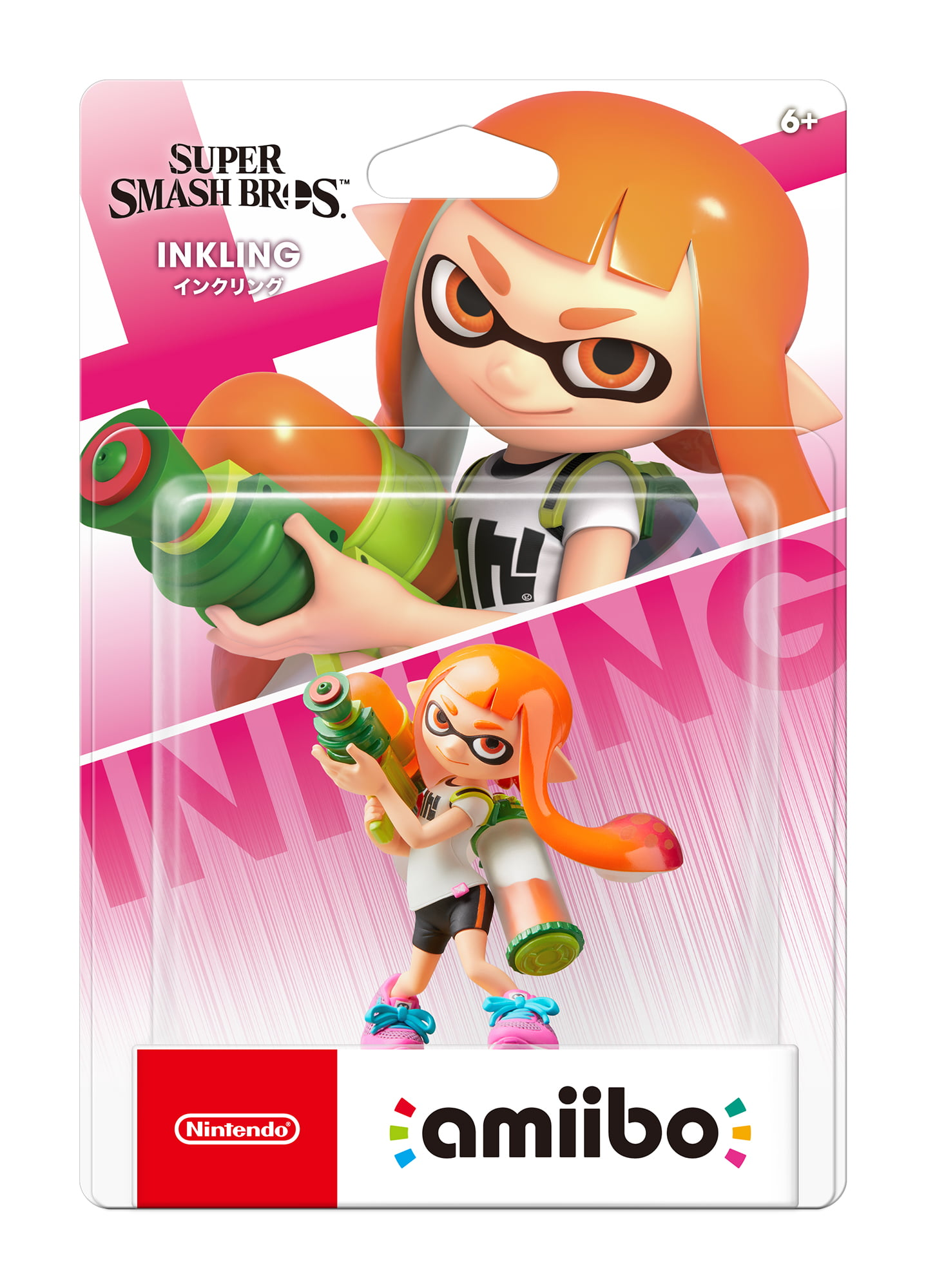 Nintendo Smash Bros. Series amiibo, Inkling Girl by Nintendo
