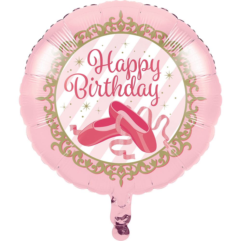 Ballerina Balloon (each) - Party Supplies