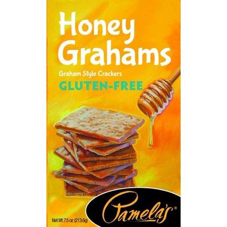 Gluten Free Wheat - Pamela's Honey Grahams, Gluten-Free, 7.5 Ounce