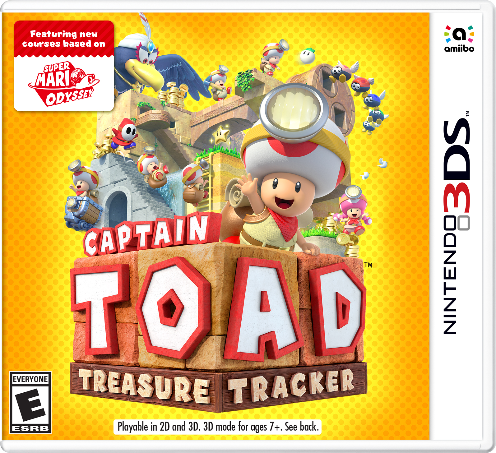 Captain Toad: Treasure Tracker, Nintendo, Nintendo 3DS, 045496745103