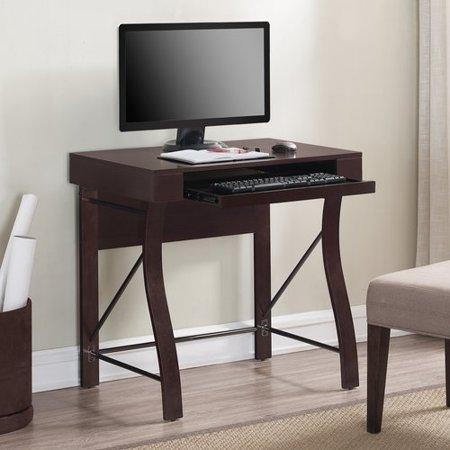 Wrought Studio Aust Pull Out Keyboard Shelf Writing Desk