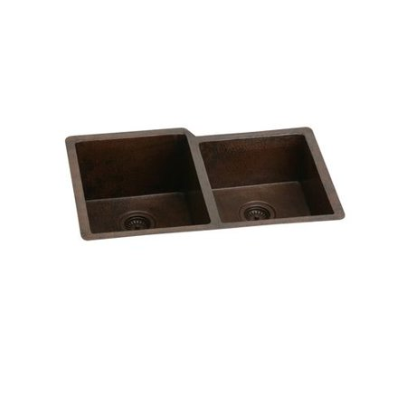 Elkay ECU3120RACH Avado Copper Double Bowl Undermount Sink