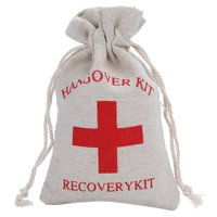 KABOER Newest 10pcs\/set 10*15cm Red Cross  Bags Bachelorette Party Supplies Cotton  Holder Bag
