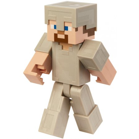 Minecraft Steve In Iron Armor 12-inch Action