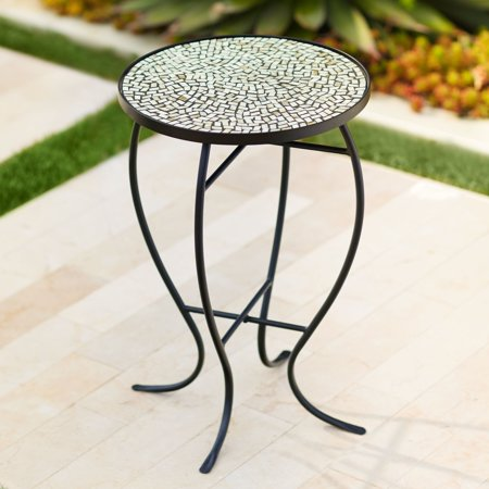 Teal Island Designs Zaltana Mosaic Outdoor Accent Table ()