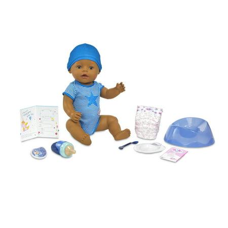 BABY born Interactive Boy Doll- Dark Brown Eyes - Rag Dolls For Boys