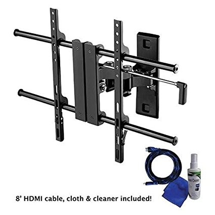 "Creative Concepts A2660BPK Full Motion Medium TV Wall Mount for 26-60"" Televisions"
