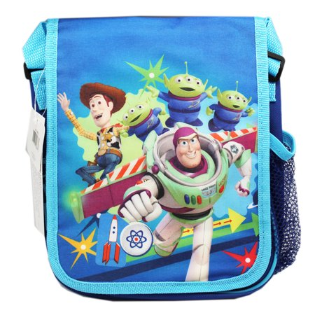 Disney Pixar's Toy Story Buzz and Woody Blue Reusable Lunch Bag ()