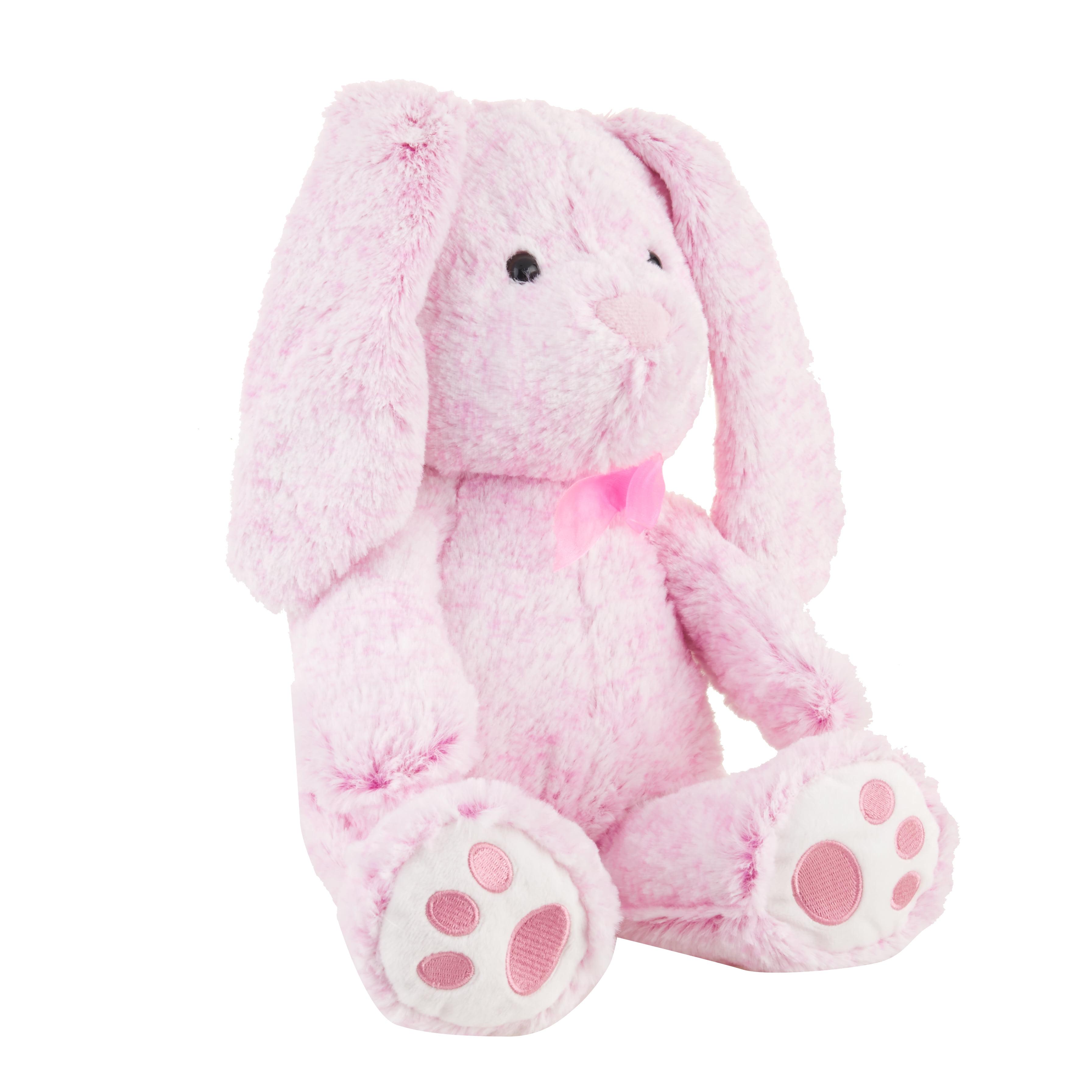 Blue Big Teddy Bear, Hug Fun Plush Pink Lop Ear Bunny Rabbit 13 In Stuffed Animal Pal Brickseek