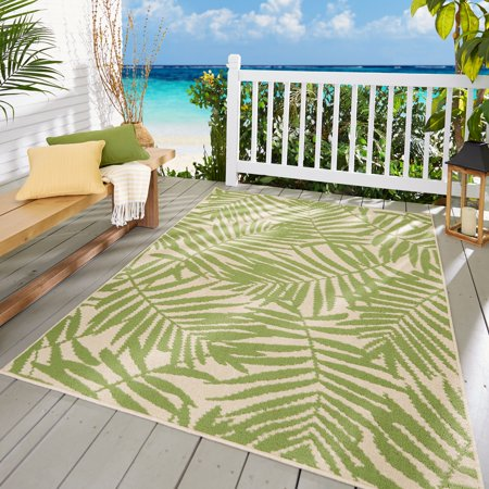 Mainstays Palm Indoor/Outdoor Area Rug (Outdoor Indoor Rug)