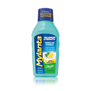 Mylanta Maximum Strength Liquid Antacid + Anti-Gas, Classic Flavor, 12 fl oz