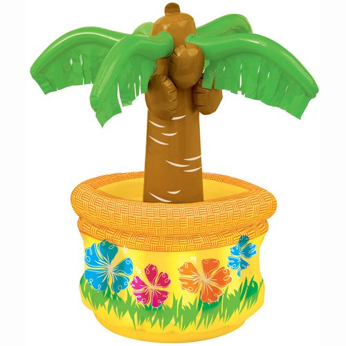 "26"" Palm Tree Inflatable Cooler"
