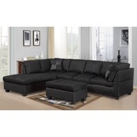 Black Sectional Sofas - Walmart.com