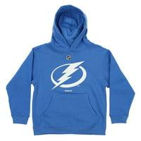 Reebok NHL Youth Tampa Bay Lightning Team Logo Hoodie, Blue