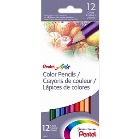 Colored Pencils 12pk, Assorted Colors