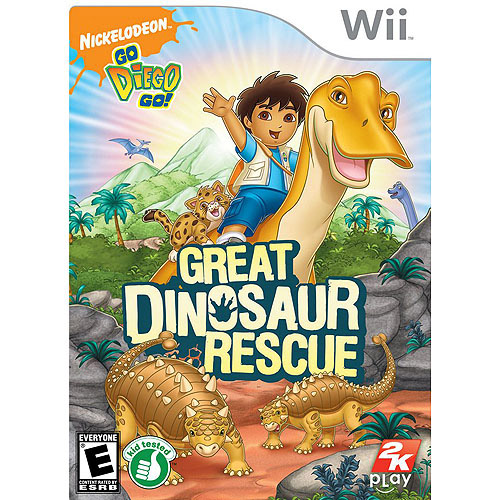 Image of Go Diego Go: Dino Rescue (Wii)
