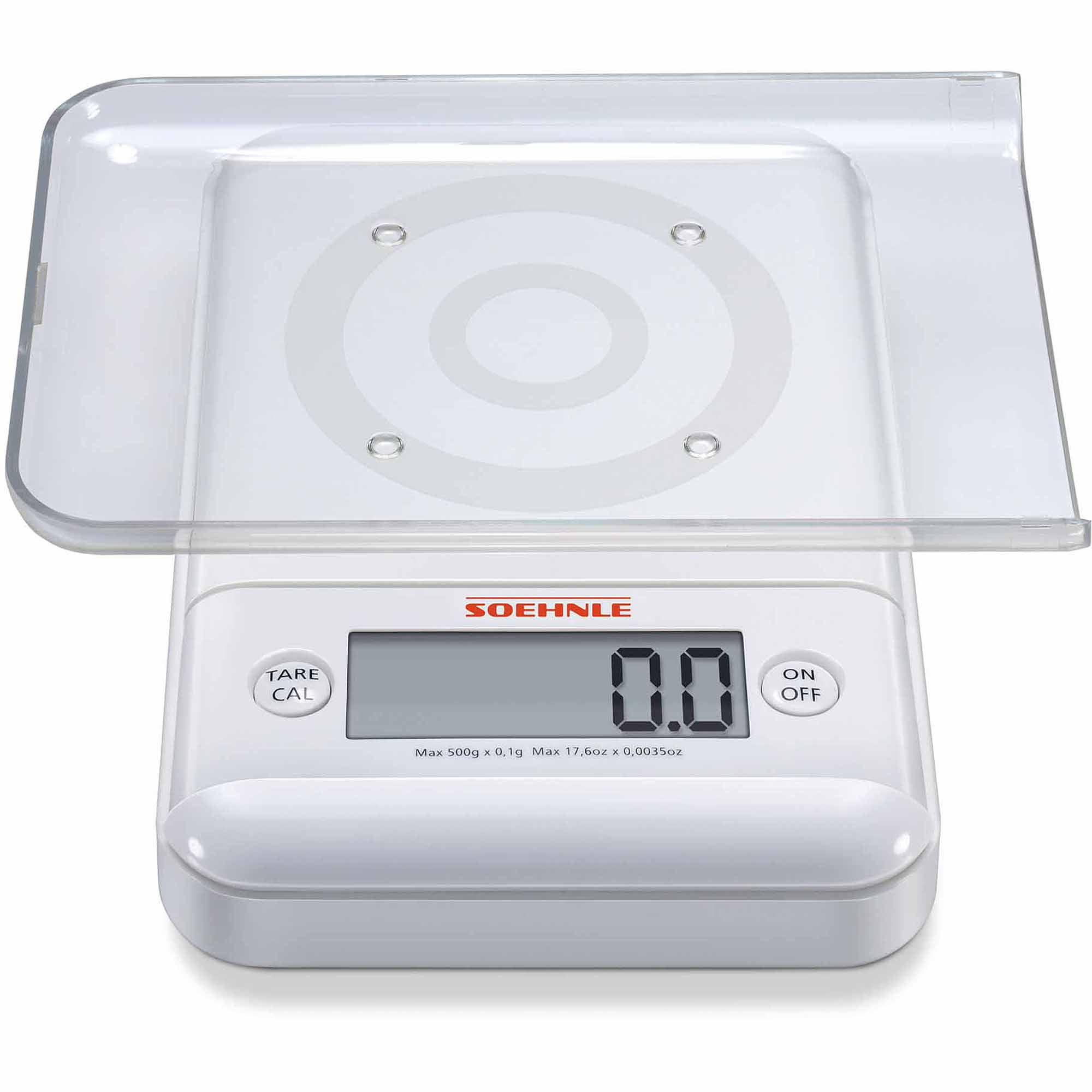 Soehnle ULTRA 2.0 Precision Digital Food Scale, 17.6 Oz, White   Walmart.com