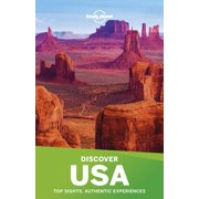 Travel Guide: Lonely Planet Discover USA - Paperback