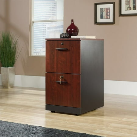 - Sauder Via 2 Drawer File Cabinet in Classic Cherry