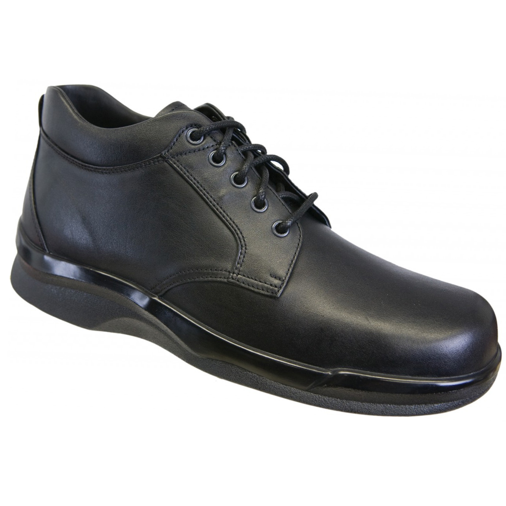 Apex Ambulator B4000M Men's Boot: 7.5 Medium (C-D) Black Lace