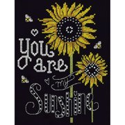 """You Are My Sunshine Counted Cross Stitch Kit-8""""X10"""" 14 Count"""