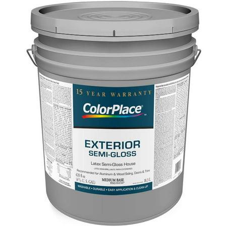 color place exterior semi gloss medium paint base. Black Bedroom Furniture Sets. Home Design Ideas