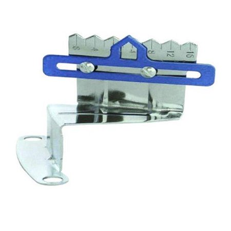 Pointer Utility Block - R9179 Timing Tab for Pointer Small Block Chevy 283-350, Chrome