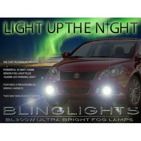 2010 2011 2012 2013 2014 suzuki kizashi xenon fog lights driving lamps -  walmart com
