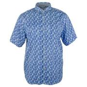 Tommy Bahama Men's Big and Tall Piccolo Palms Camp Shirt