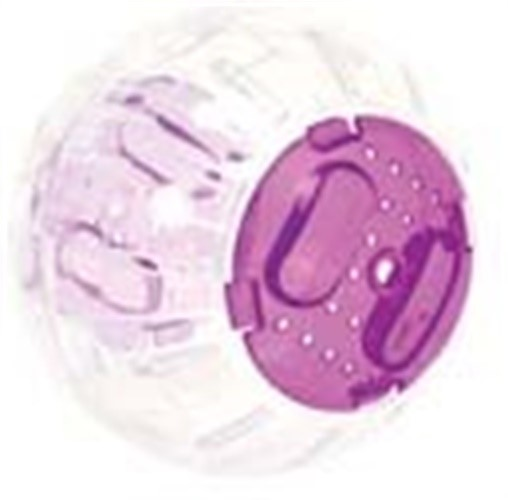 Ware Roll-N-Around Small Pet Toy, Mini Multi-Colored