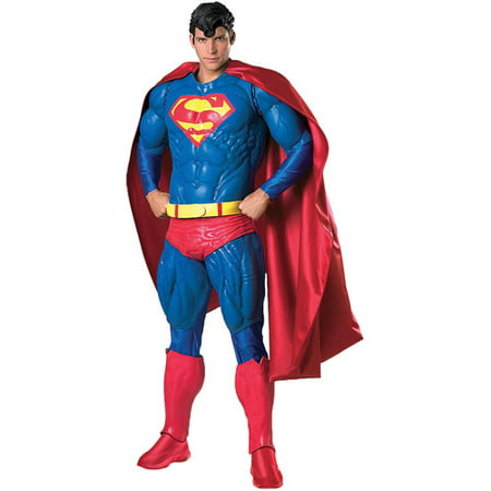 Collector Superman Adult Halloween (Collector's Edition Superman Costumes)