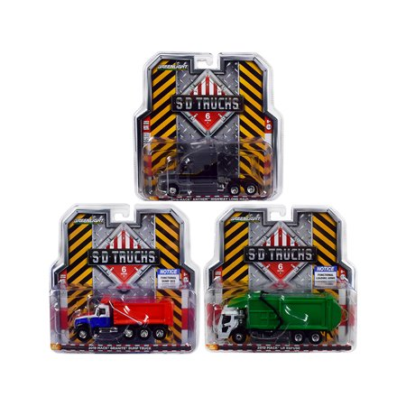 "2019 Mack Trucks ""S.D. Trucks"" Series 6, Set of 3 pieces 1/64 Diecast Models by Greenlight"