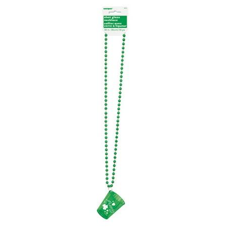 St. Patrick's Day Shot Glass Necklace](St Patricks Day Glasses)