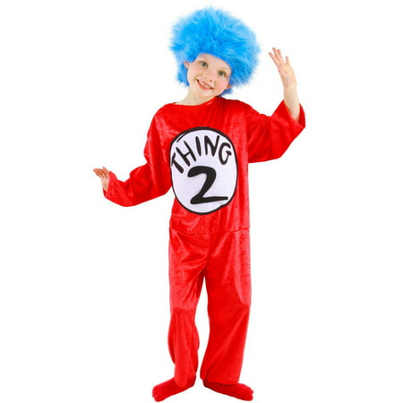 Dr. Seuss Cat In The Hat Child Halloween Costume - Dr Seuss Character Costume