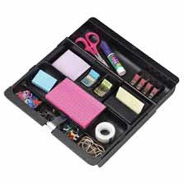 3M MMMC71 Desk Drawer Organizer- 10-.38in.-16in.x11-.63in.x1-.50in.- Black by 3M
