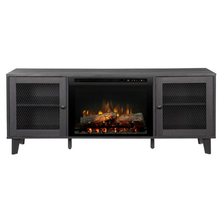 Dimplex Dean Media Console Electric Fireplace With Logs for TVs up to 60
