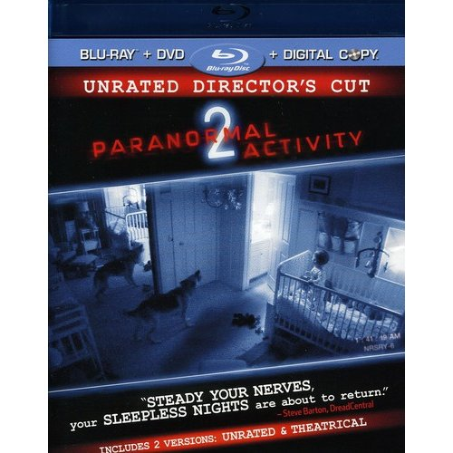 Paranormal Activity 2 (Unrated Director's Cut) (Blu-ray   Standard DVD) (Widescreen)