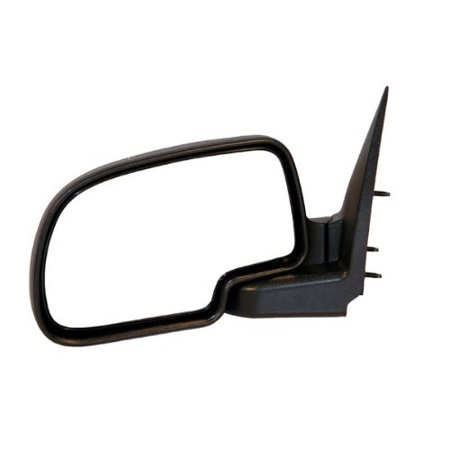 1999-2006 Chevrolet/Chevy Silverado 1500 2500 Pickup Truck, Suburban, Tahoe GMC Sierra, Yukon Manual Folding Black Textured Rear View Mirror Left Driver Side.., By Aftermarket Auto (Silverado 1500 2500 Pickup Truck)