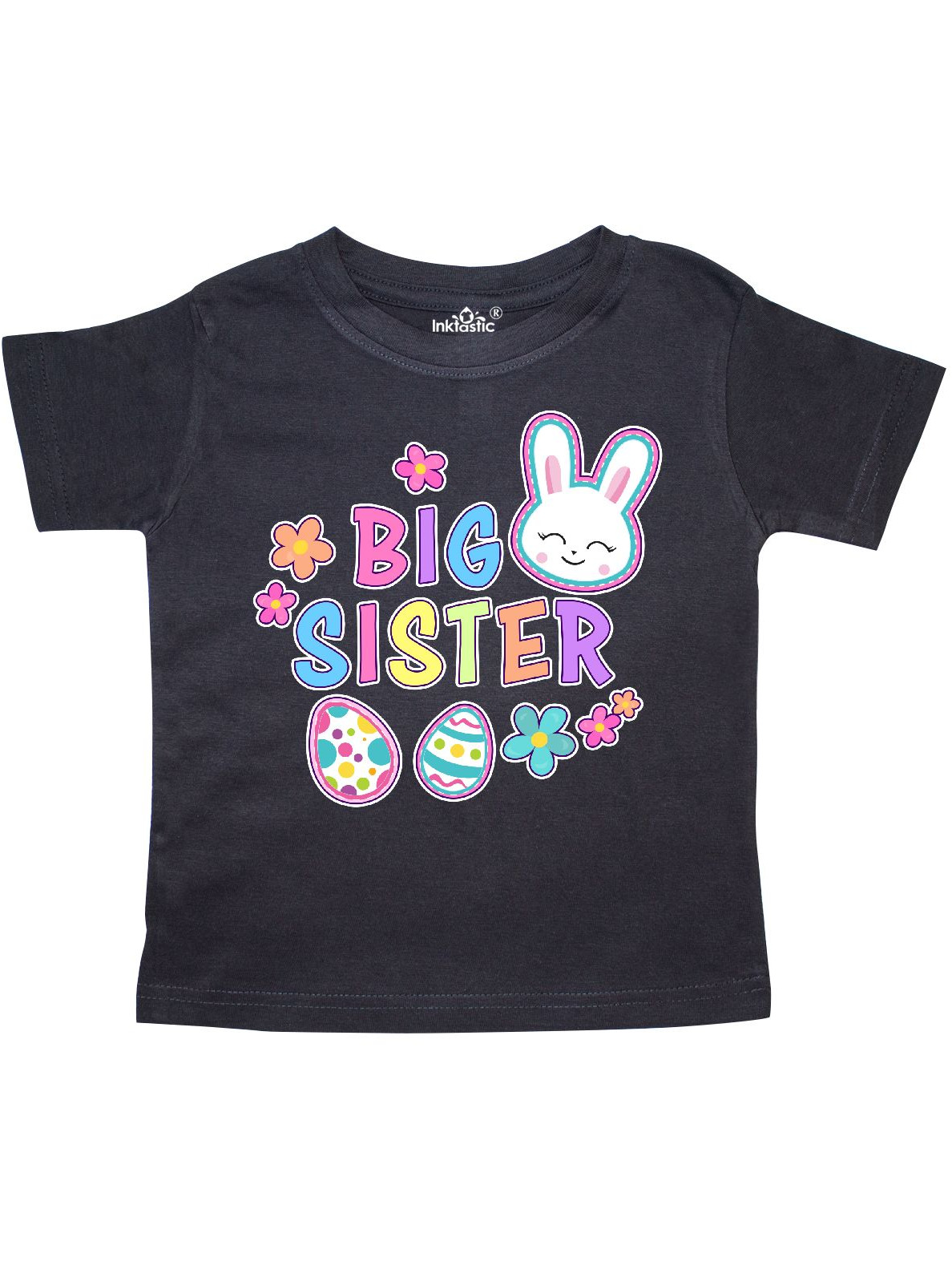 TooLoud Easter Bunny and Egg Design Infant T-Shirt