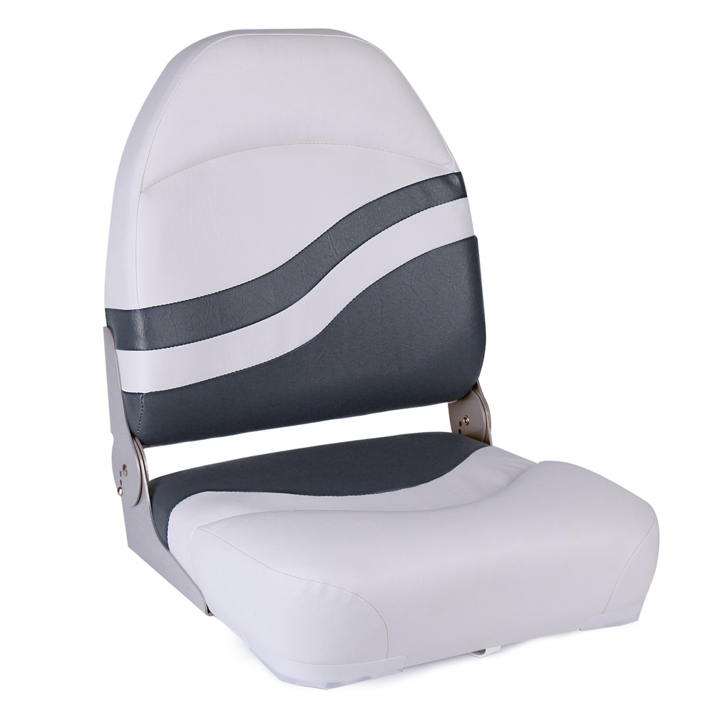 Leader Accessories New High Back Sports Folding Boat Seat