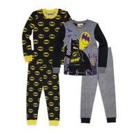 Lego Batman 4 Pc Pajama set(Little Boys & Big Boys)