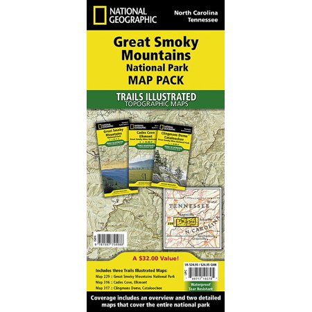 Great Smoky Mountains National Park - Great Smoky Mountains National Park [map Pack Bundle]